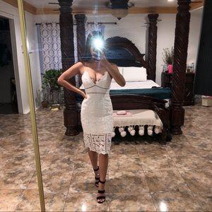 Bardot White Cocktail Dress